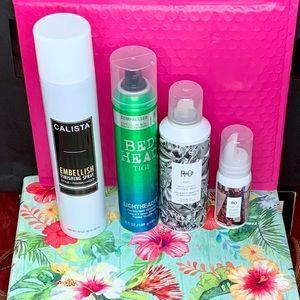Haircare Hairspray Bundle- Unused